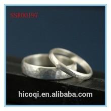 High quality fashion design hot sale wholesale silver wedding ring