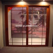 fine workmanship aluminium colored mahogany front doors