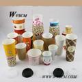 um 10oz papel de embalagem copo de cappuccino