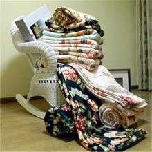 Knitted Guangzhou coral fleece jingle cats blanket bed sheets