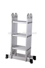 Aluminum multi-purpose step ladders