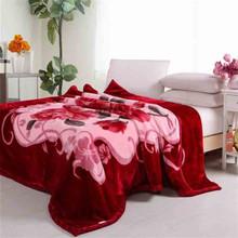 king size wholesale mink wool heavy 100% polyester fur blanket