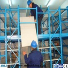 Industrial supported mezzaniner shelving and storage solutions