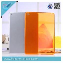 ultrthin slim smotth soft tpu case for ipad air 2 crystal clear case