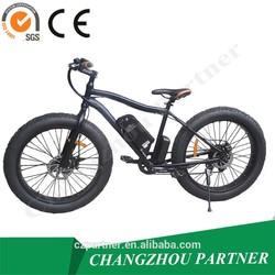 """Deep green color Light weight aluminum bike frame 26""""*4.0 fat tire electric bike/fat tire snow e bike"""