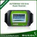 2014 carro diagnóstico profissional máquina autoboss elite v30 multi- funcional scanner construir- em mini impressora atualização on-line