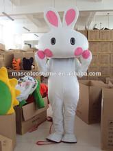 hot sales big white rabbit mascot costume white big white rabbit cosplay cartoon lovely big white rabbit cartoon costume