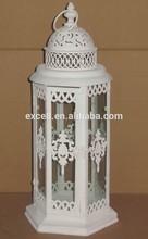 Antique white metal moroccan wholesale lanterns