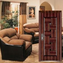front metal doors/metal doors with letter box