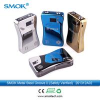 Smoktech Safty version Groove ecig mod V2 6V 15W Var Wattage & Var Volttage Ecig 3800mah Vaporizer Modle