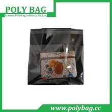 clear self adhesive pe hd plastic bag for small goods