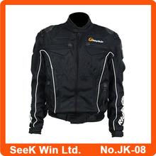 2015 New Black Motorcycle Clothes Racing Motorbike Jacket Durable Motocross Suit JK-08N