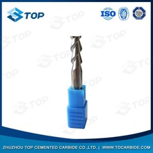 Good performance various dia 5 flute sqr coated tialn carbide finisher end mills