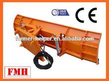 Pala cargadora frontal de la nieve tractor arado reversible hidráulico arado