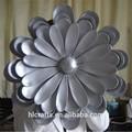 fibra de vidro personalizado esculturas de flores para venda em guangzhou