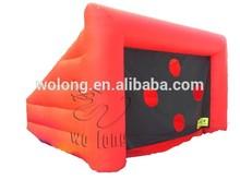 inflatable game, inflatable sport game, inflatable football shoot