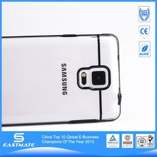 Stylish design brushed metal cell phone case for samsung note 4