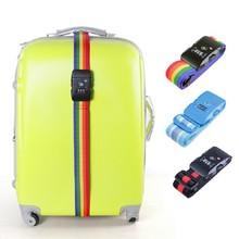 TSA Luggage Ribbon Belt Digital lock for International Travel