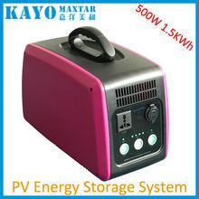 700-1400KWh 500W hybrid solar energy storage system
