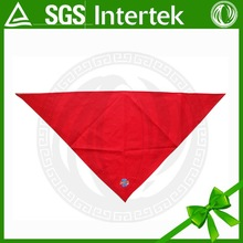 Popular 100% polyester plain custom bandanas wholesale