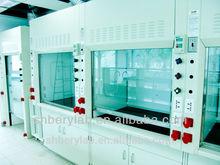 Beryl caliente venta de laboratorio campana de humos a través de ISO9001 ISO14001 de seguridad la campana extractora de humos de ventilación sistema de venta al por mayor