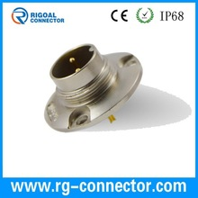 m16 2pins circle male connector connector