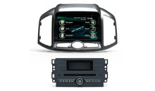 2 din Car dvd player with gps/radio/mp3/audio system for Captiva 2012