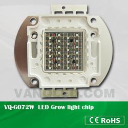 70W High power multiband COB LED grow light chip