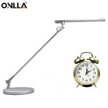 longevity eye protection brushed nickel desk lamp