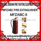 High quality 6kg ABC dry powder fire extinguisher