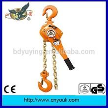 hand pulling chain hoist HSZ-VT 0.75ton-9ton manual lever block