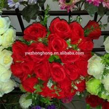 Wedding rose bouquet artificial flowers , wedding flowers , Wedding rose flowers