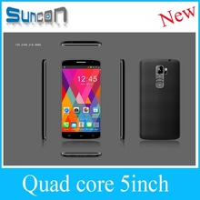 New model 5 inch MTK6582 quad core android 4.4 super slim android smart phone