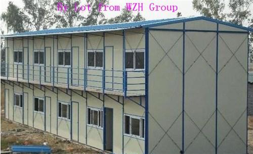 Faible coût deux- étages maison préfabriquée armature en acier maison préfabriquée prix bon marché