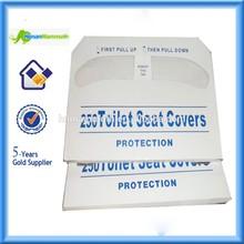 Half Fold 250pcs/bag Tissue Paper Toilet Seat Covers TP-2-04