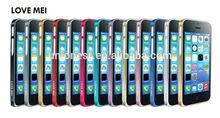 Love Mei Cheap Mobile Phone Bumper Case For Iphone 5,For Iphone 5 Screw Metal Bumper