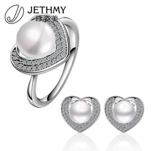 Charming Noble High Quality Wedding Bridal Russian Pearl Jewel Wholesale