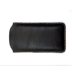 Calfskin Sleeve Genuine Leather Pouch Bag for iPhone Mobile Phone Cover