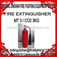 Jiangshan jinshan manufacture for 3kg CO2 fire extinguisher