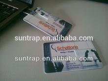 Best Seller USB 2.0 Interface Type Card Shape USB Flash Drive, USB Disk, USB Pen Drive