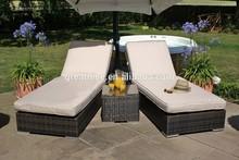 Orlando Comfortable Outdoor Rattan/Wicker Garden and Pool Sunbed Set