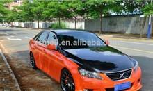Zsmell best quality el car sticker for car back window with 12v lighter