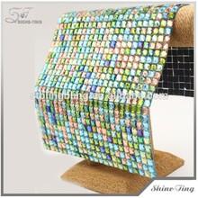 crystal hot fix rhinestone mesh roll crystal rhinestone mesh garment accessories