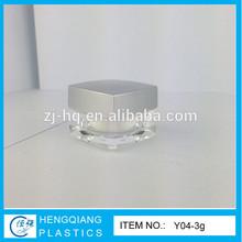 3g Mini Cosmetic Sample Jars