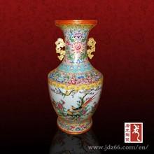 Luxury design gold plated dubai vase for high taste life
