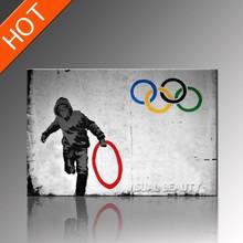 2014 Promotion Olympics Banksy Wall Art