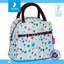 custom casual women lunch bag shopping bag ladies hand bag