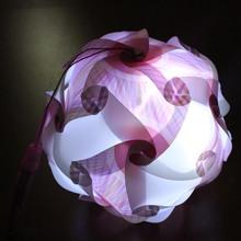 White conventional portable lantern 250mm