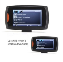 120 degree wide angle car driving recorder Support Video player