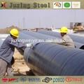 3pe anti- corrosión de la tubería interna y la reducción de la resistencia revestimiento de tubos de acero